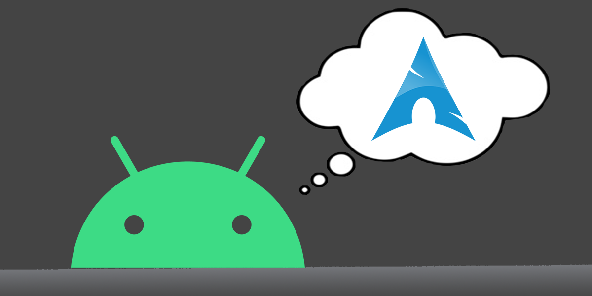 running arch linux on android